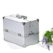 Wholesale professional hard make up box kiss beauty cosmetics box vanity box for women
