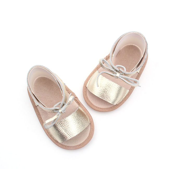 Wholesael Factory Shoes Girls Leather Sandals