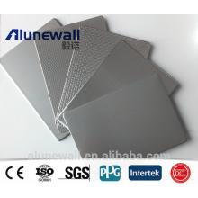 Panneau composite en plastique d'acier inoxydable d'Alunewall 6-8mm usine chinoise usine