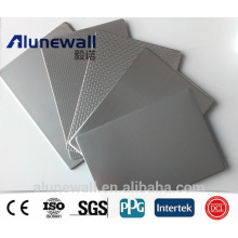 Alunewall 6-8mm Stainless Steel Plastic Composite Panel Chinese factory