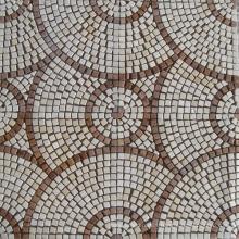 Half Round Pattern Marble Mosaic (HSM136)