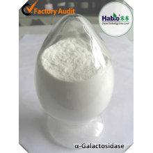 aditivo alimentario alfa-galactosidasa enzima / producto químico / agente