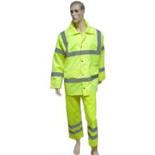 Светоотражающий защитный костюм с курткой и брюками