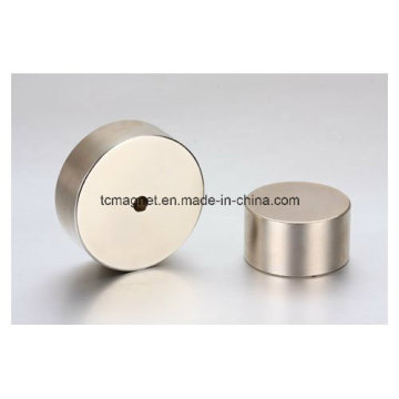 Neodymium Magnets with Holes in Block and Disc Shape
