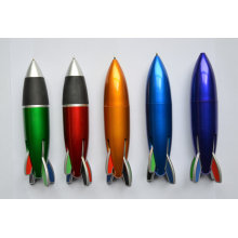 La pluma plástica multi-color de los regalos de la promoción Htf063