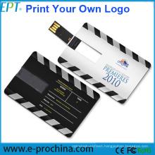 Mini USB Credit Card USB Flash Drive (EC003)