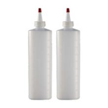 Frasco LDPE 240ml para cuidados com os cabelos