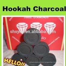 Hochwertige rauchfreie Stern Shisha Holzkohle