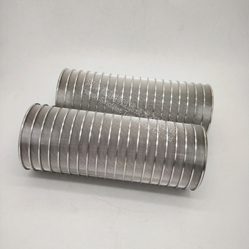 Slotted Wedge Wire Screen Panels Formade Filter