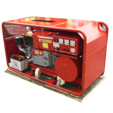 Gerador diesel do único cilindro da fase monofásica de 2kw a 24kw