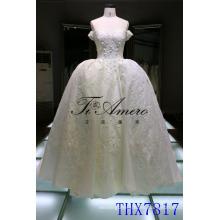 Vestidos De Novia Vestido de boda atractivo del off-the-shoulder del vestido de boda del vestido 2017 Vestido nupcial del vestido de De Mariage