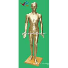 178cm Antike menschliche medizinische chinesische Akupunktur Modell Bronze