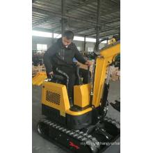 CE approved hydraulic crawler mini excavators