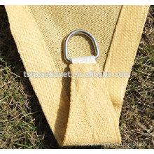 HDPE Rectangle Sun Shade Carport /Sun Shade Sail/Sun Shade Net Sand Color