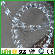 GM Free sample Anping manufacture produce quality galvanized razor blade barbed wire for sale