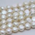 11-12mm AAA Nugget Barock Biwa Perlen Perlen Stränge (E190040)