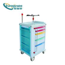 Equipamento de carrinho de emergência médica ABS hospitalar