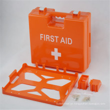 Caixa de plástico para dispositivos de primeiros socorros vazios para hospitais médicos ABS