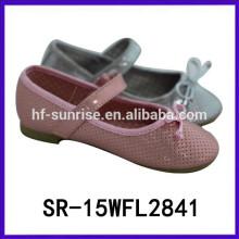 2015 nuevo zapato de vestido vendedor caliente del vestido del zapato de vestido de las muchachas de los zapatos del ocio