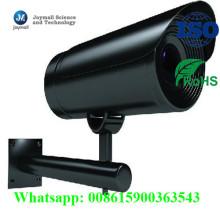 OEM de aluminio de fundición CCTV Cámara Shell cubierta con soporte