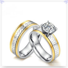 Fashion Accessories Crystal Jewelry Stainless Steel Ring (SR810)
