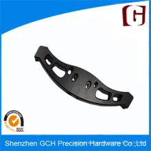 Maquinado de aluminio CNC anodizado negro personalizado