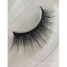 wholesale 100% premium mink fur false strip eyelashes with private label