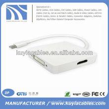 3 in 1 Mini DP to HDMI/DVI/DP adapter For Mac book