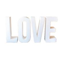 Giant 3D EVA foam lettering for wedding decoration