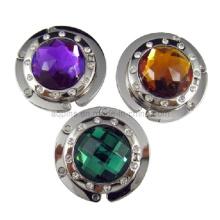 Gancho cristalino del bolso con diverso diamante (bolso hanger-04)