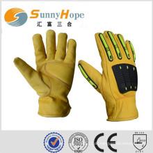 Sicherheitshandschuhe mechanische Handschuhe Leder Arbeitshandschuhe