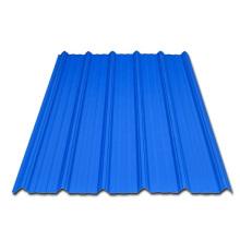 Farbbeschichtete Wellplatte für den Bau von Dachbahnen