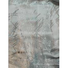 Nova chegada rascunho design 100% poliéster fio tingido tecido jacquard para janela