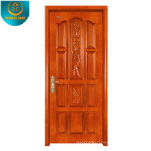 Peau de porte de MDF de placage de grain de bois d'Okoume avec le panneau différent