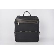 Quadra Heritage - Grand sac à dos en toile cirée - Noir