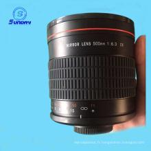 Lentille miroir REFLEX 500mm F8 pour Sony Alpha