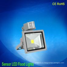 Оптовые светодиодные прожекторы с индукционным датчиком движения 30w 85v-265v