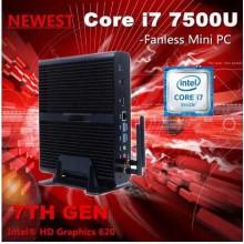 7th Gen Intel Core I3 7100u 2017 Kaby Lake Fanless Mini PC 12V Wind10 2.4GHz HTPC Computer Intel HD Graphics 620 4k HD. Mi&VGA