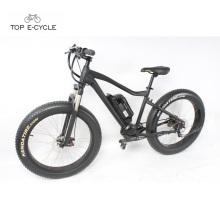 La fábrica suministra directamente la bicicleta eléctrica mountaion gordo de la nieve del neumático