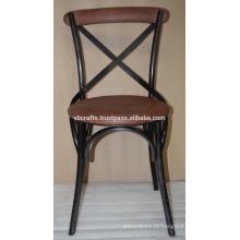 Cadeira de couro traseira de couro industrial