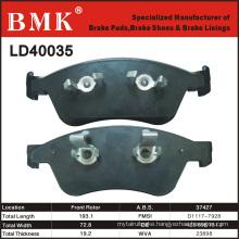 Environment Friendly Brake Pads (LD40035) for Audi