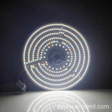Módulo de placa de luz LED de techo colorable de 40 W