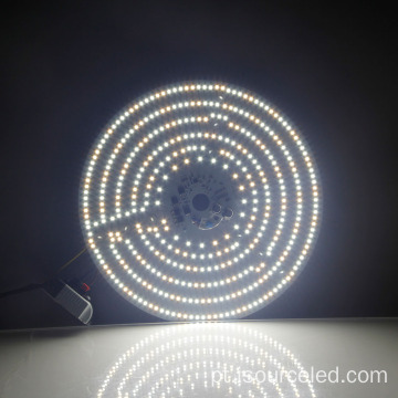 Colorable smd 2835 rodada 40W AC módulo LED