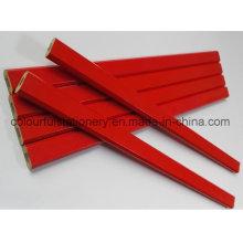 Lápis de Carpinteiro de Forma octogonal disponível no OEM
