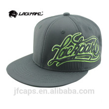 Mode benutzerdefinierte 6 Panel Snapback Kappe / Hut