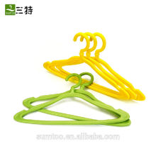 Eco-friendly short baby plastic clothes hanger