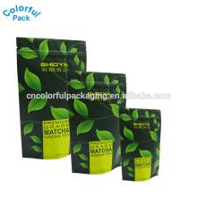 Sacos plásticos da embalagem do chá do produto comestível vazio de alta qualidade do selo térmico