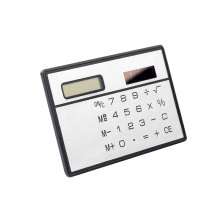 8 digit solar powered  credit card calculator