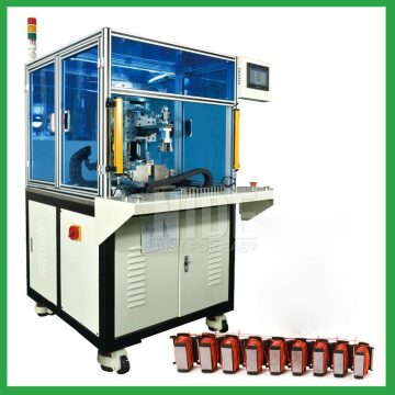 Automatic liner segment stator needle winding machine