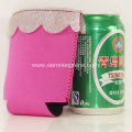 Promotional Sublimation Lace Can Coolers Tube